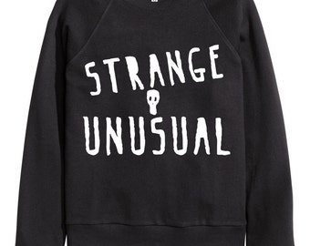 Strange and Unusual Lydia Deetz Beetlejuice Crewneck Sweater