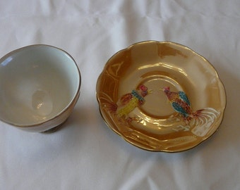 Shafford  cup  and  saucer  porcelaine