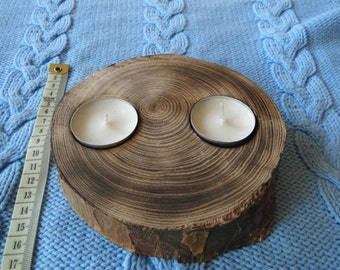 Wood Candle Holders | Tea Light Candle Holders | Wood Candle Sticks | Wedding Decorations | Home Decor | rustic woodwork