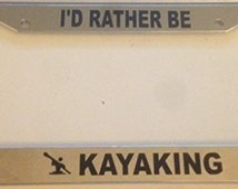 Popular Items For Kayak Decal On Etsy