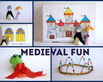 Medieval Kids Craft Kit