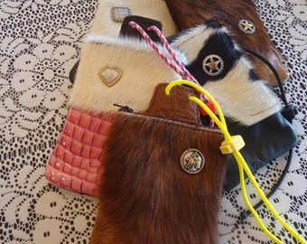 Custom Saddle Pouch - Phone and Stuff