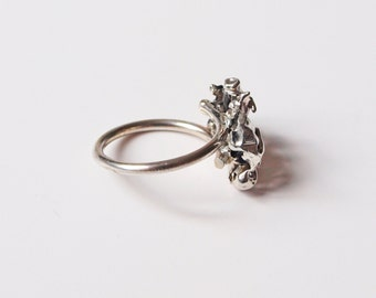 "Ring ""Silver Nugget"""