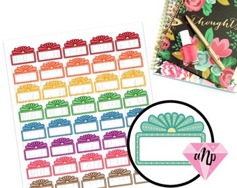 Printable Movie Marquee Planner Stickers for ECLP MAMBI Planner Filofax Day Designer