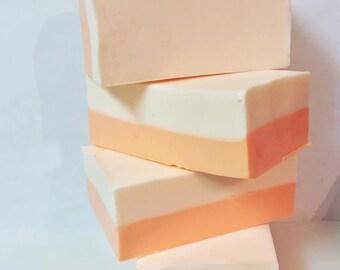Peaches 'n' Cream Shea Butter Soap