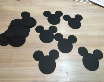 Mickey Mouse Cut-Outs 3 inches (set of 20)