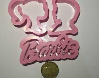 Barbie Set of 3 Cutters