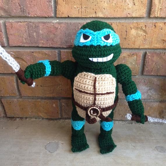 Ninja Turtles PATTERN crochet pattern ninja by AllAgeCrochets