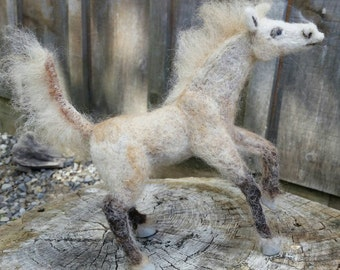 Felted horse