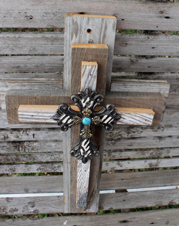Rustic wall crosses wallskid decorative crosses rustic cross wall decor wooden amipublicfo Gallery