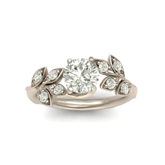 Twisted Engagement Ring