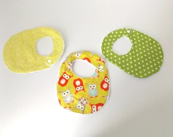 3 bibs for baby birth
