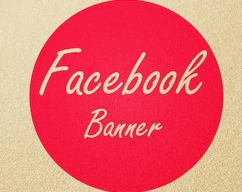 I will design custom Facebook cover/banner