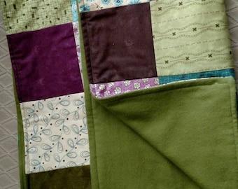 Baby Blanket,Fancy Floral patchwork quilt