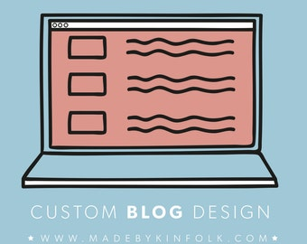 Custom WordPress Blog Design