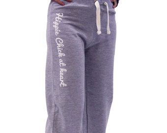 Womens Hippie Chick at Heart Joggers