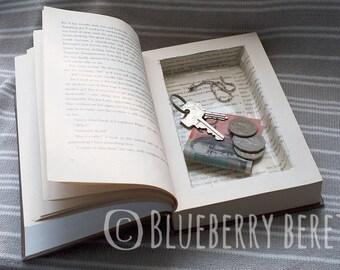 Handcut book safe