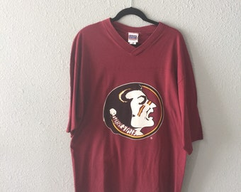 1990's Florida State University FSU Seminoles #9 T Shirt