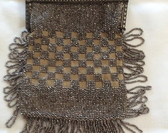 Purse, vintage Edwardian Art Deco style antiques dance purse