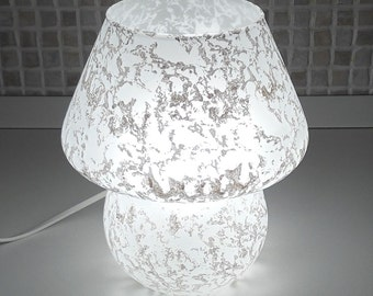 Murano mushroom lamp scavo Venini 1980s made in Italy excellent condition worldwide shipping