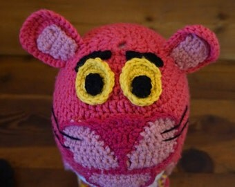 Baby Pink Panther Beanie by BertaBi
