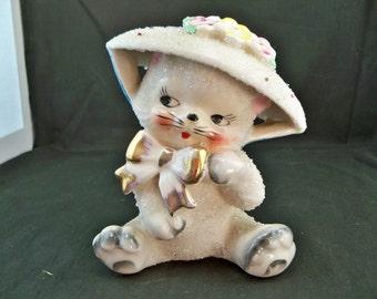 Sansco Cat Figurine