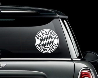 FC Bayern Munchen Vinyl Decal Bumper Sticker