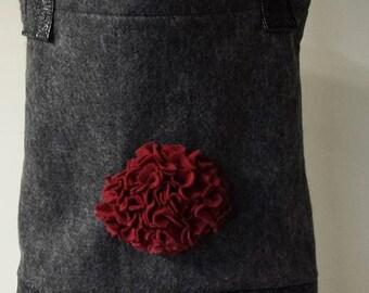 Felt & Floral Handbag