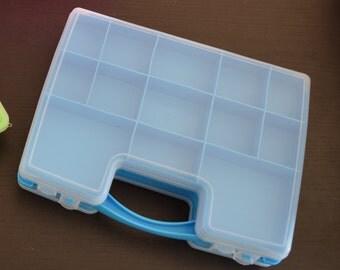Tools storage case box double - duplex - craft organizer