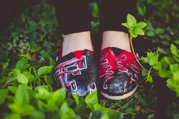 Custom Painted University Toms!