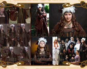 Dame Seli cosplay (Kaamelott)