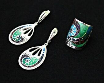 Earrings & ring