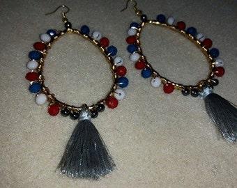 Tassel Earrings Made By G