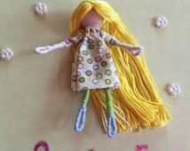 Alphabet Dolls - O Olive