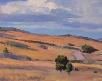 Colorado landscape, Southwest art, landscape oil painting, impressionism, western art