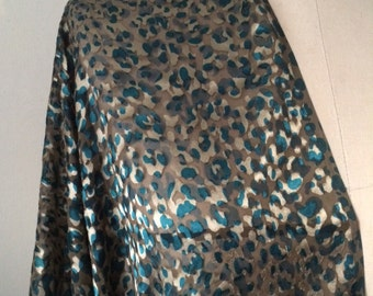 Silk Print Fabric