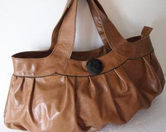 GEDEON Camel Hobo Bag