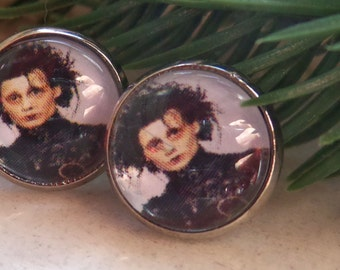 Johnny Depp Edward Scissorhands earrings