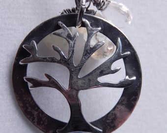 Tree of Life Pendant Necklace Custom added Birthstones Customer choice