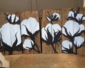 Cotton Barnwood Art