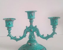 Unique Rustic Candelabra Related Items Etsy