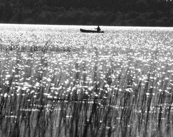 Silverish lake