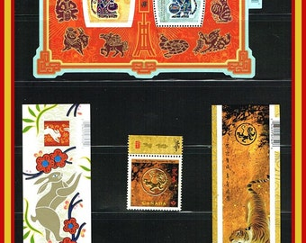 Mint Lunar New Year Stamps and Sheets - Chinese New Year