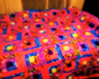 Beautiful handcrafted quilt