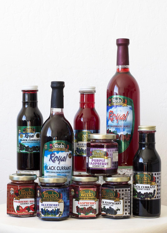 All Natural, Organic, Gourmet Purple Raspberry Jam - Utah's Own, Preserves, Jelly, Marmalade