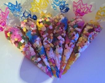 Medium Mixed Sweet Cones