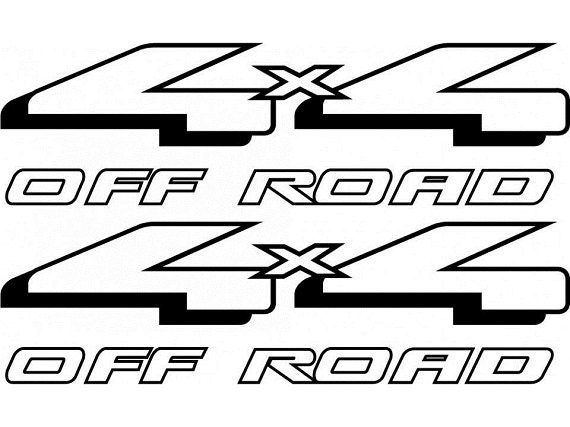 items similar to 4x4 off road replacement bed side decal