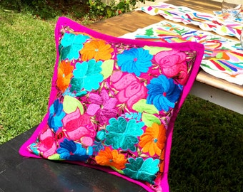 Mexican Floral Pillowcase