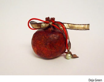Lucky Ceramic  Pomegranate  from Greece