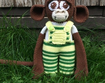 Crochet monkey Coco